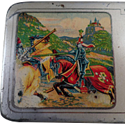 Vintage A.W. Faber Castell Pencil Tin - Metal Pencil Box - Old Advertising Tin