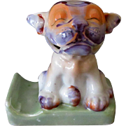 Vintage Toothbrush Holder - Silly Dog Bonzo Figurine - 1940's - 1950's