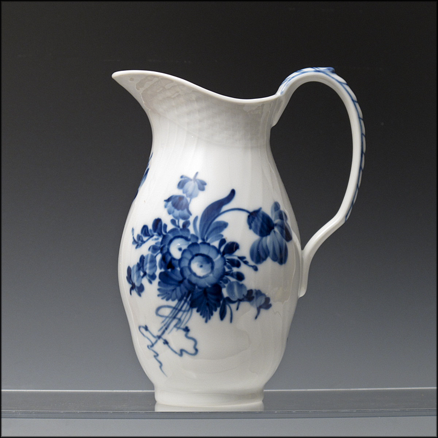 Royal Copenhagen Pitcher / Jug in the Blue Flower Pattern