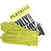 Chartreuse Peccary Pigskin Leather Gloves by Van Raalte with Tags - NOS