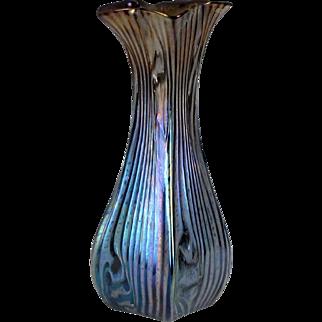 Large Rindskopf Persica Glass Vase - Jugendstil - Art Nouveau