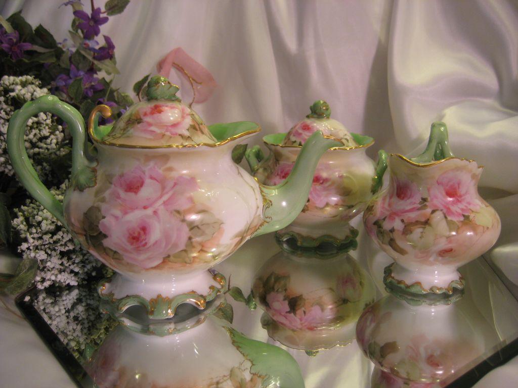 Magnificent Rare Mold Beauty Limoges France Antique