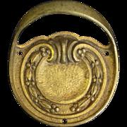 Belgian cast bronze pulls