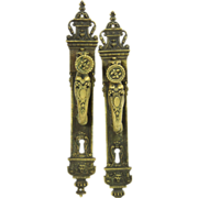 Turn of the century door pulls