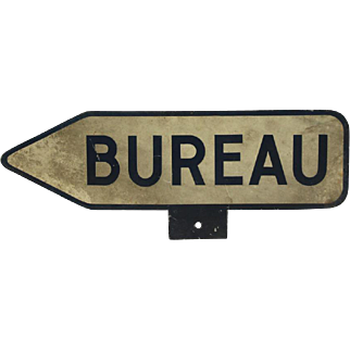Bureau French sign