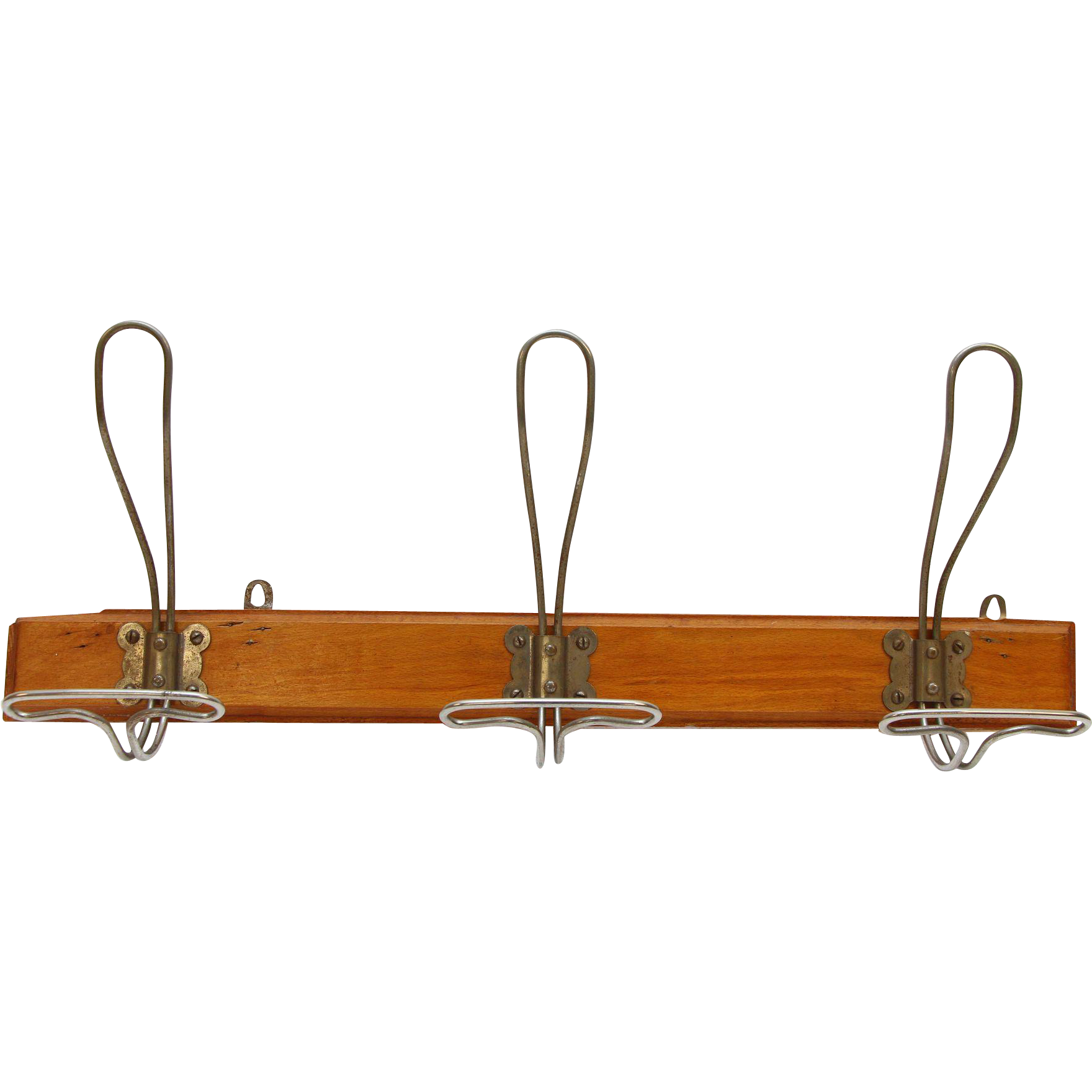 Mid Century hook train rack