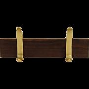 Mid Century modern hook rack