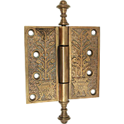 Aesthetic Bronze Hinge with Steeple Tips