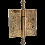 Aesthetic Bronze Hinge with Steeple Tips