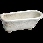 Vintage Godin Ceramic Bathtub Soap Dish