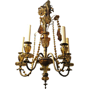1920 French Venetian style chandelier
