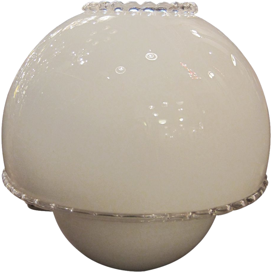 murano glass globe table lamp from oldegoodthings on ruby lane. Black Bedroom Furniture Sets. Home Design Ideas