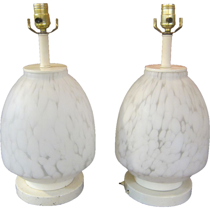 Mid Century Italian made table lamps