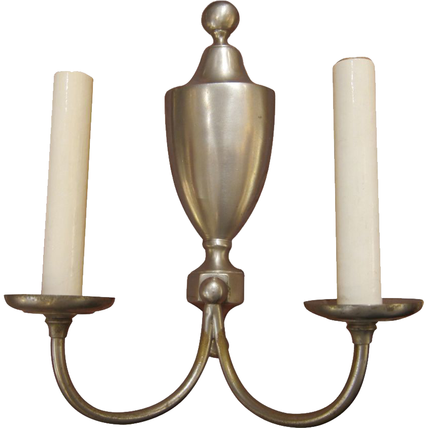 Single French made bronze sconce