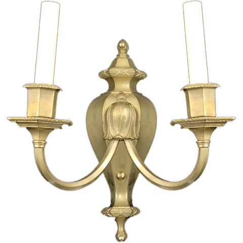 Georgian style bronze sconce