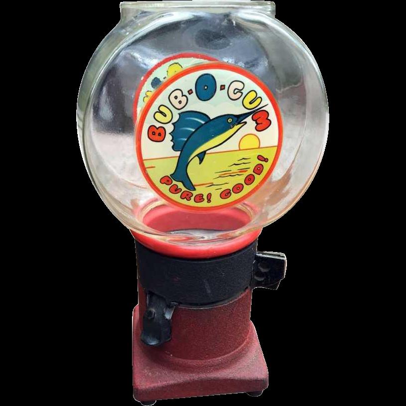 Vintage Bub-O-Gum machine