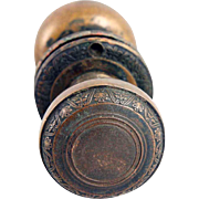 Brass Decorative Flower Doorknob Sets