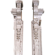 Unique hand carved 1890's Eastlake pilasters