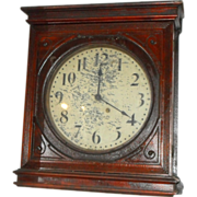Seth Thomas wooden wall clock