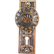 Mallory Wheeler brass door set