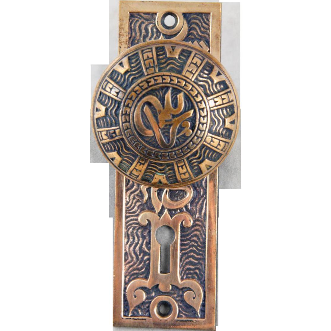 Mallory Wheeler brass door set