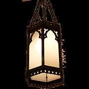 Large Gothic pendant lantern