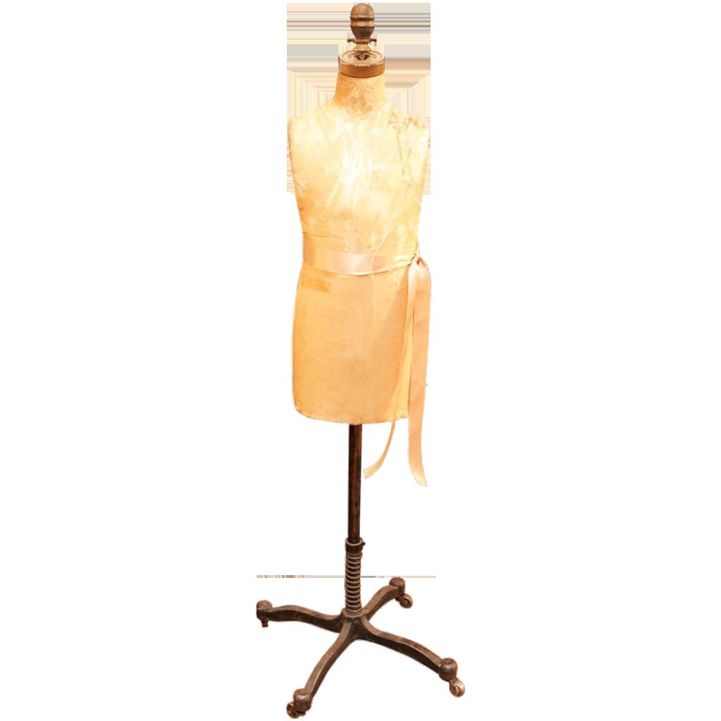 1950's Vintage adjustable dress form