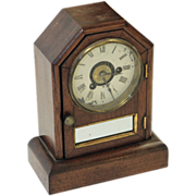 Vintage Seth Thomas roman numeral shelf clock