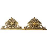 Highly ornate bronze furniture castings