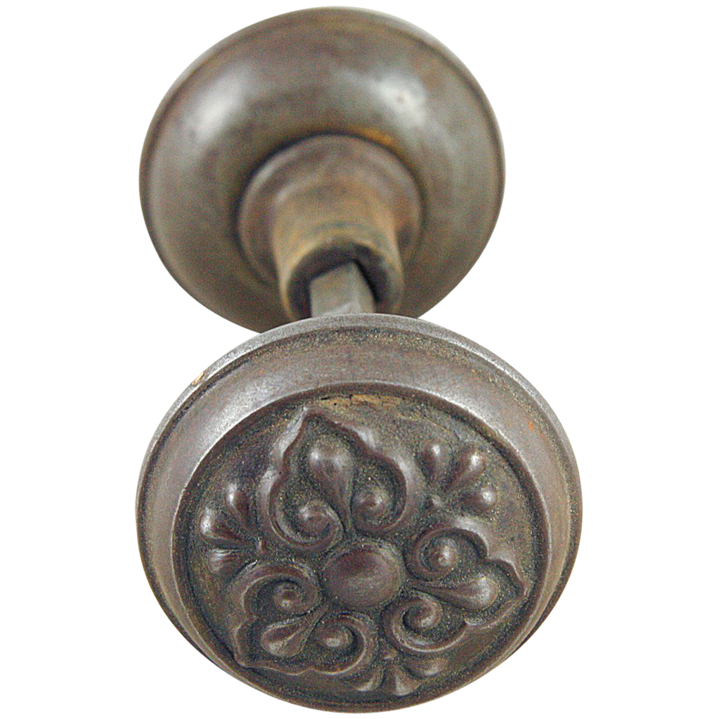 Antique Lockwood doorknob set