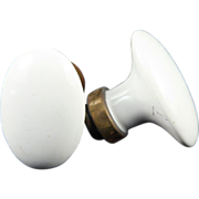 Ceramic oval knob set