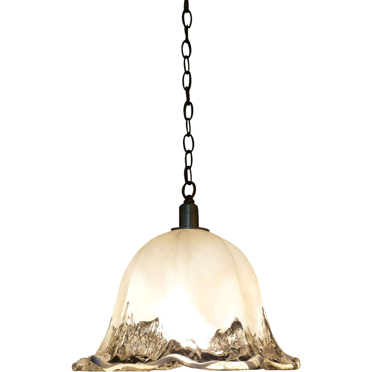 Vintage Murano glass pendant light 1970's