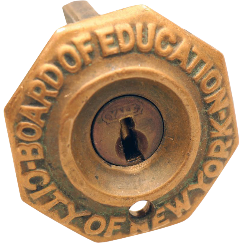 Yale New York Board of Education lock
