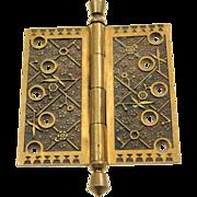 Sargent solid brass pintel hinge