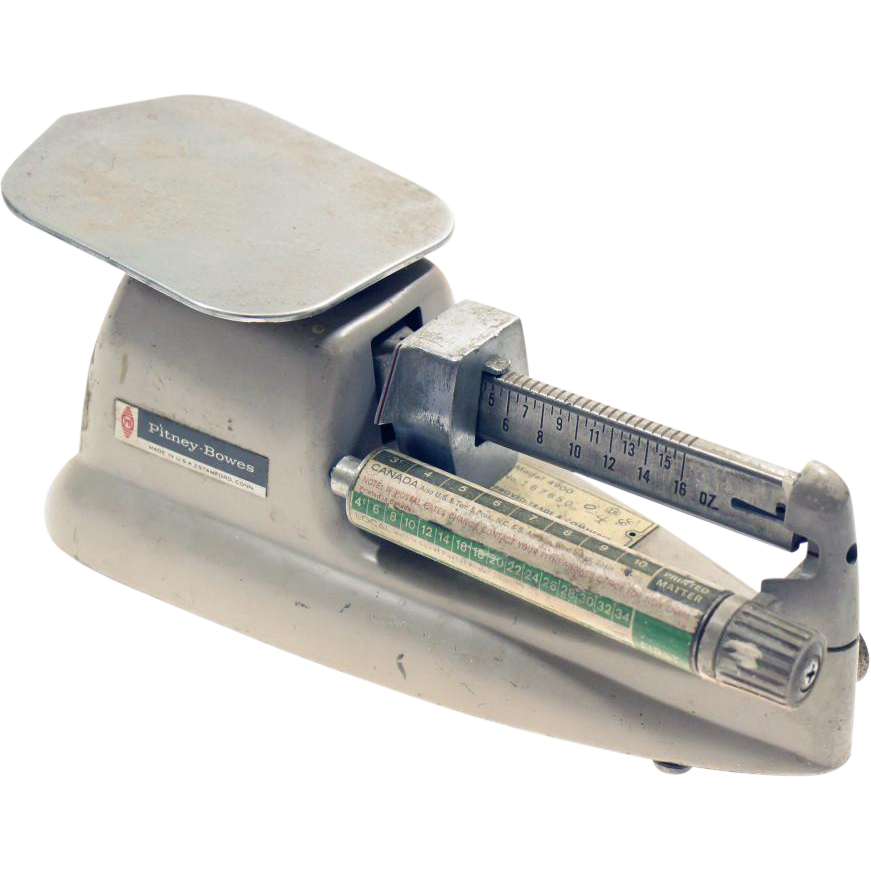 Pitney Bowes mail scale