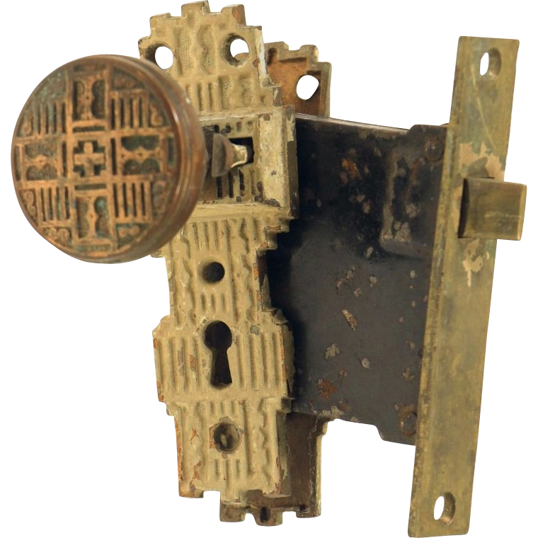 Original Gilbert vernacular knob set