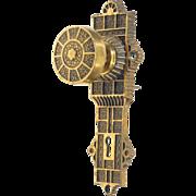 Vernacular bronze E & C G Co. knob set