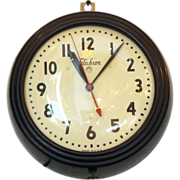 Vintage Telechron wall clock