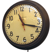 Vintage General Electric wall clock