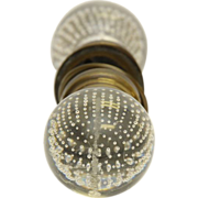 Pierpont manufactured glass bubbled knob