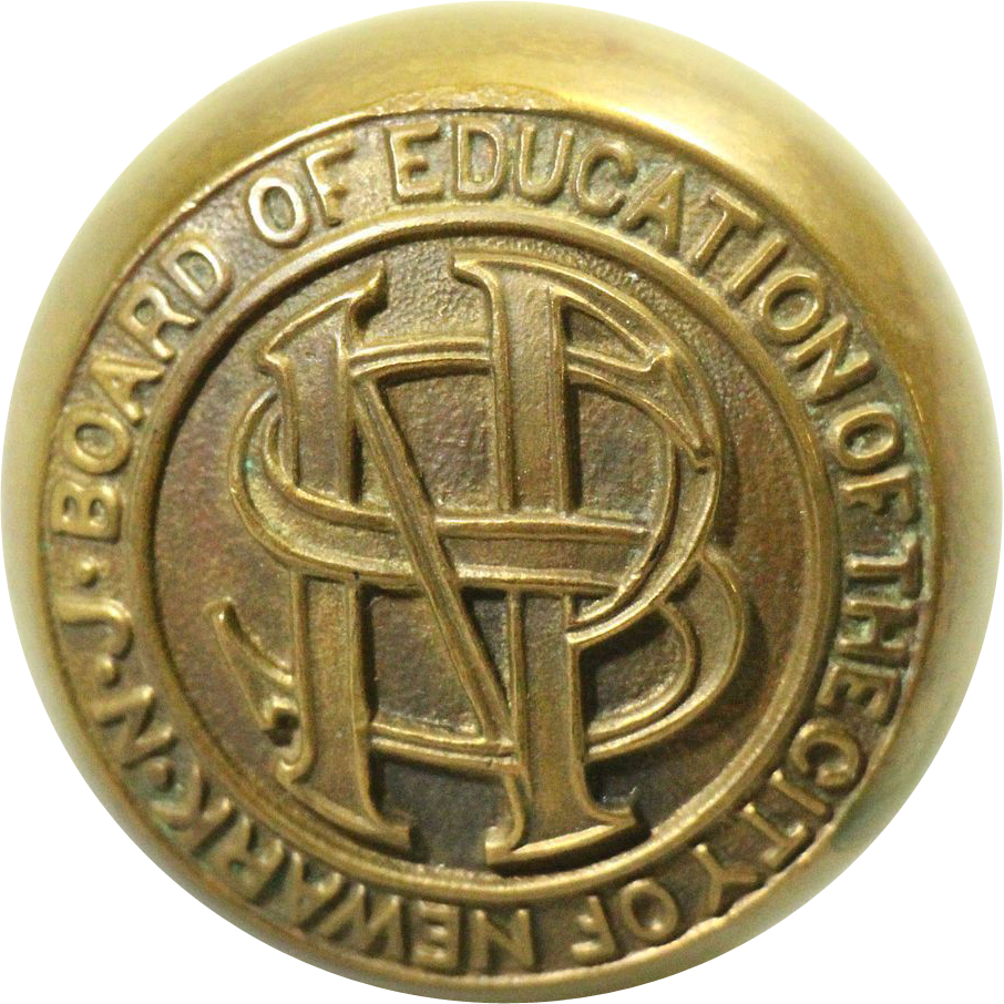 'City of Newark Board of Education' passage knob