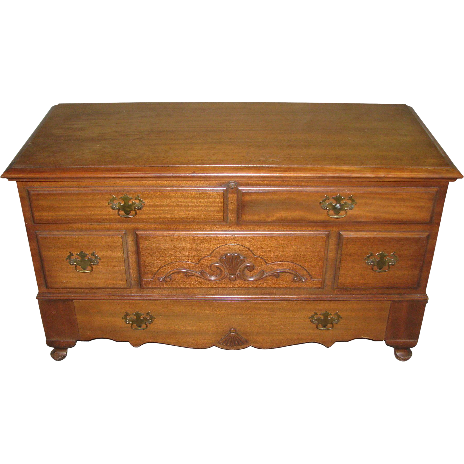 American made hope chest with bottom drawer