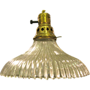 Rare milk glass light fixture