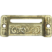 Set of apothecary cabinet pulls