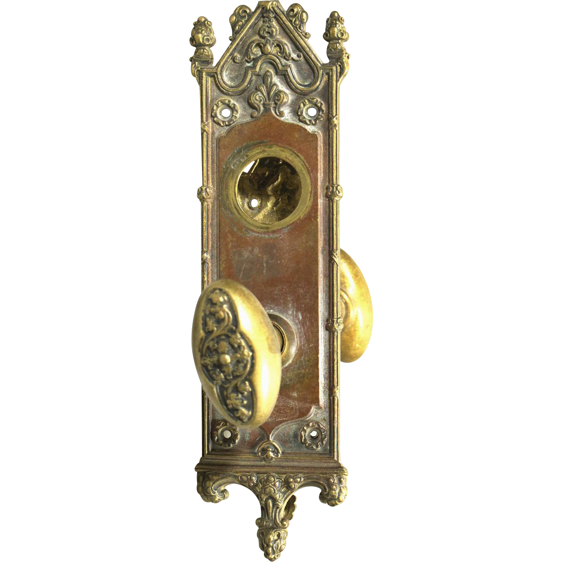 Gothic doorknob set