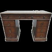 Small mahogany secretary desk