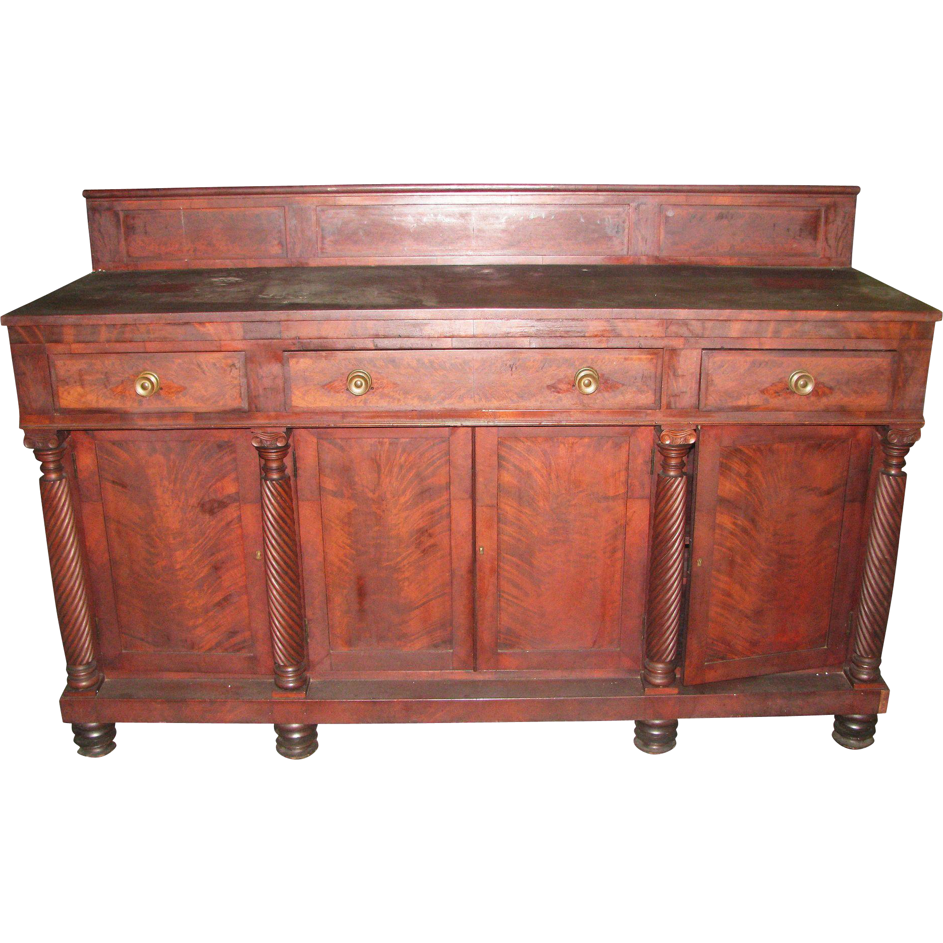 1850's Mahogany side bar