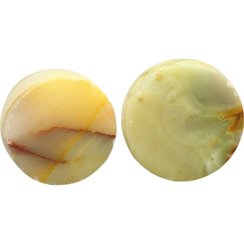 Pair of onyx drawer knobs