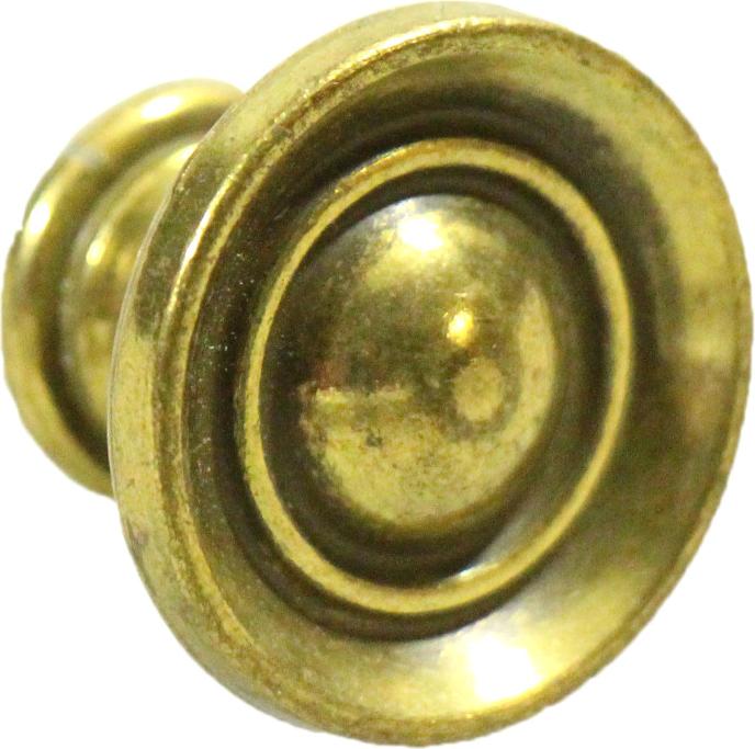 Simple cast brass drawer pulls