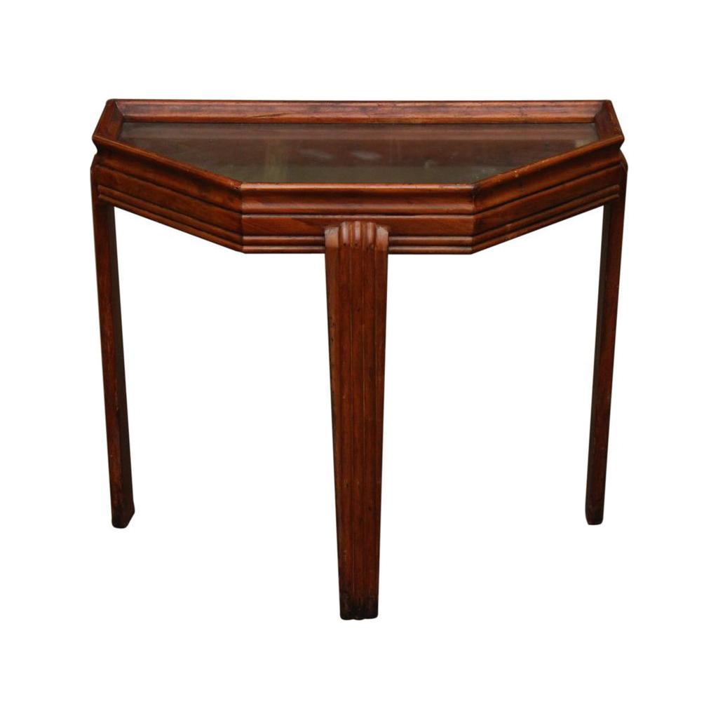 1940's Art Deco side table